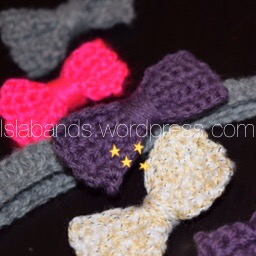 Baby headband and bow clips